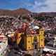 Aerial view of Basilica in Guanajuato, Mexico - VideoHive Item for Sale