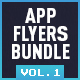 Bundle Flyers App & Web Promo (vol. 1) - GraphicRiver Item for Sale
