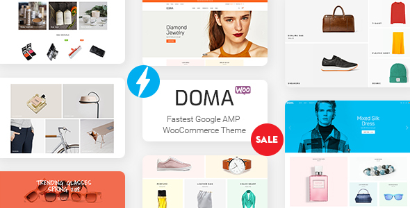 Doma - Google AMP Multi Vendor WooCommerce Theme