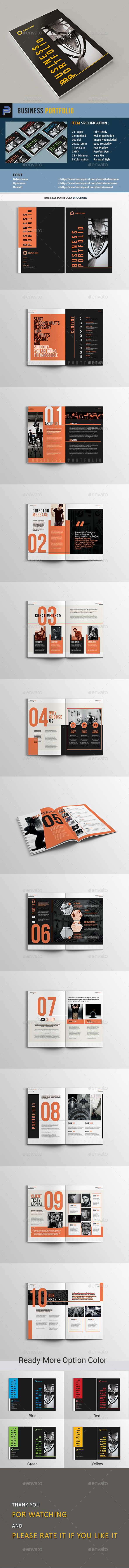 Business Portfolio - Portfolio Brochures