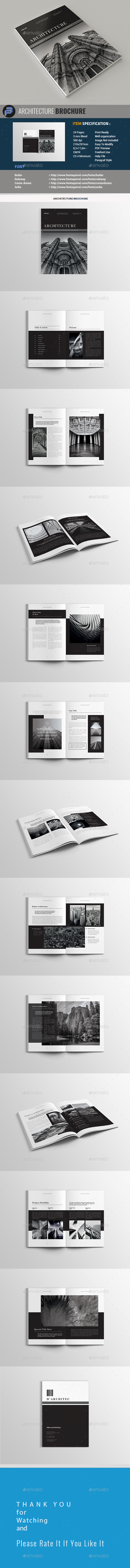 Black Architecture - Portfolio Brochures