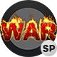 3D War Text On Fire - 2 Pack - VideoHive Item for Sale