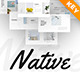 Native Minimalist Keynote Presentation Template - GraphicRiver Item for Sale