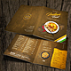 Indian Food Menu Bundle - A4 & US Letter Formats - GraphicRiver Item for Sale