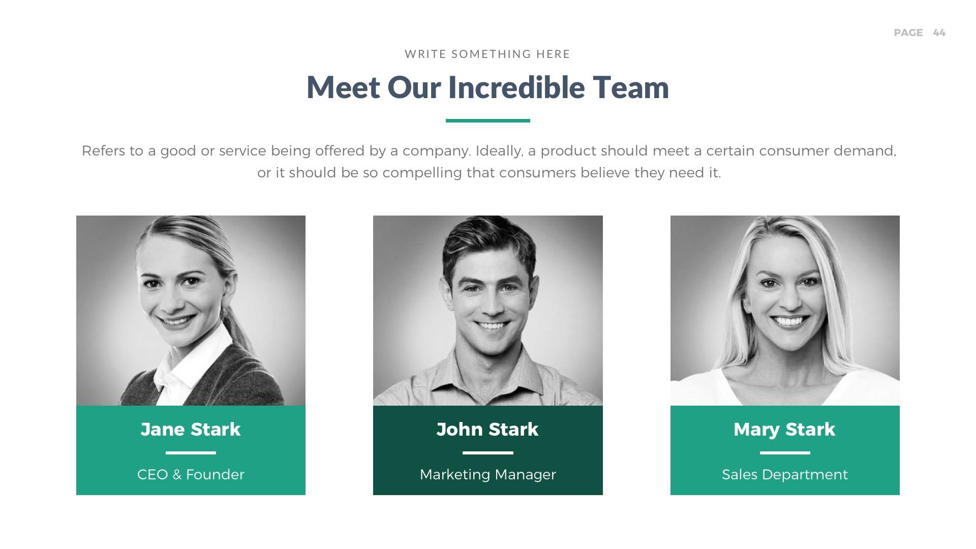 Horizon Business Pitch Deck PowerPoint Template by LouisTwelve-Design