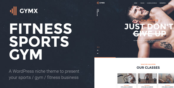 Gym X - Fitness, Gym & Sports WordPress Theme