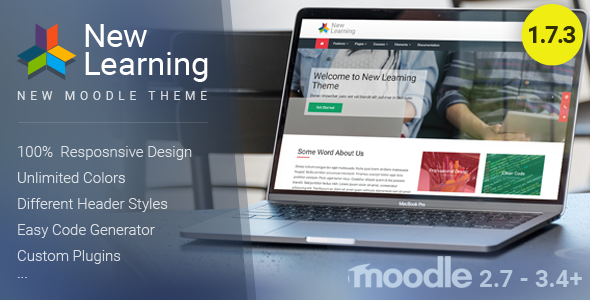 Image of New Learning | Premium Moodle Theme