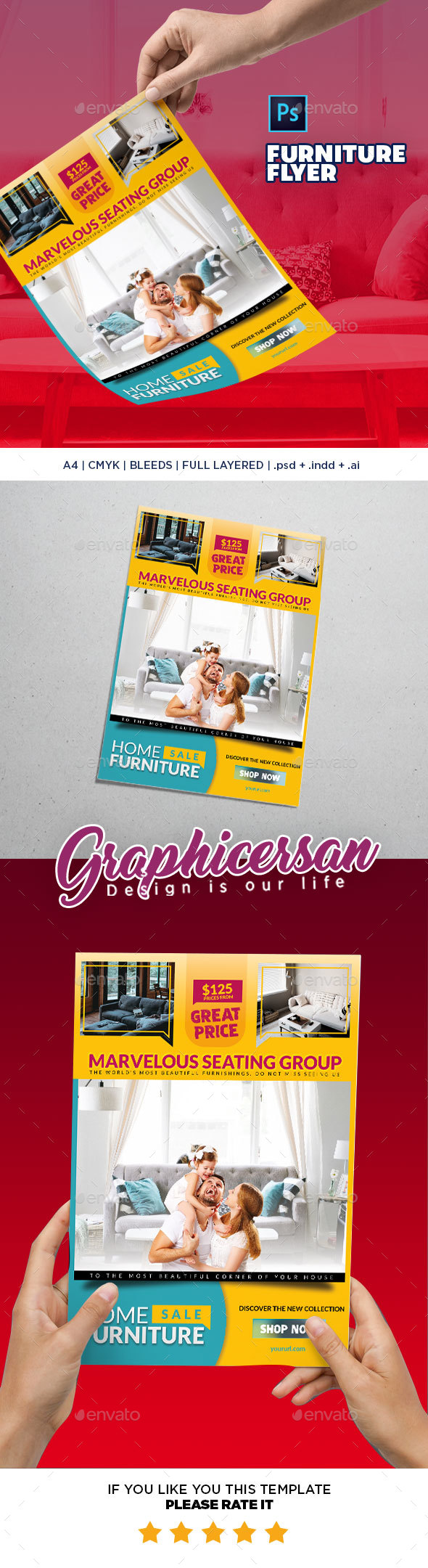 Furniture Flyer - Commerce Flyers