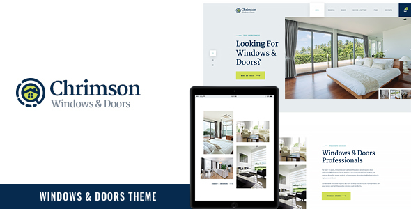 Image of Chrimson | Windows & Doors Services WP Theme
