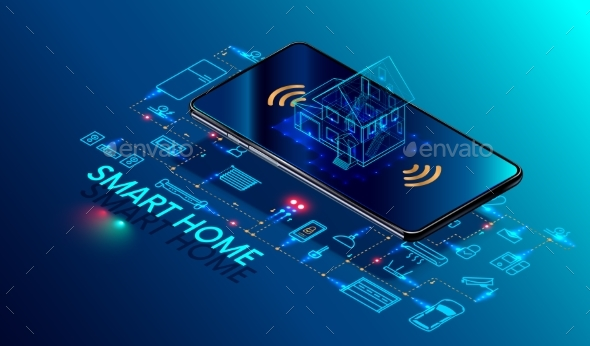 Smart Home Controlled Smartphone - Computers Technology