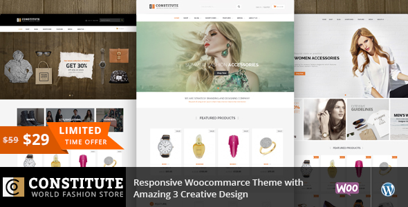 Constitute - WooCommerce Responsive Theme - WooCommerce eCommerce