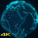 Earth Globe Hologram - VideoHive Item for Sale