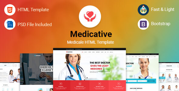 Medicative  Medical HTML Template