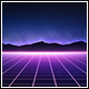 80's Retro Grid Background