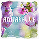 Spring Aquarelle Photoshop Action