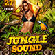 Jungle Sound Party Template - GraphicRiver Item for Sale