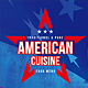 American Cuisine A4 & US Letter Single Page Menu - GraphicRiver Item for Sale