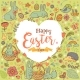 Easter Festive Frame in the Form of Heart - GraphicRiver Item for Sale