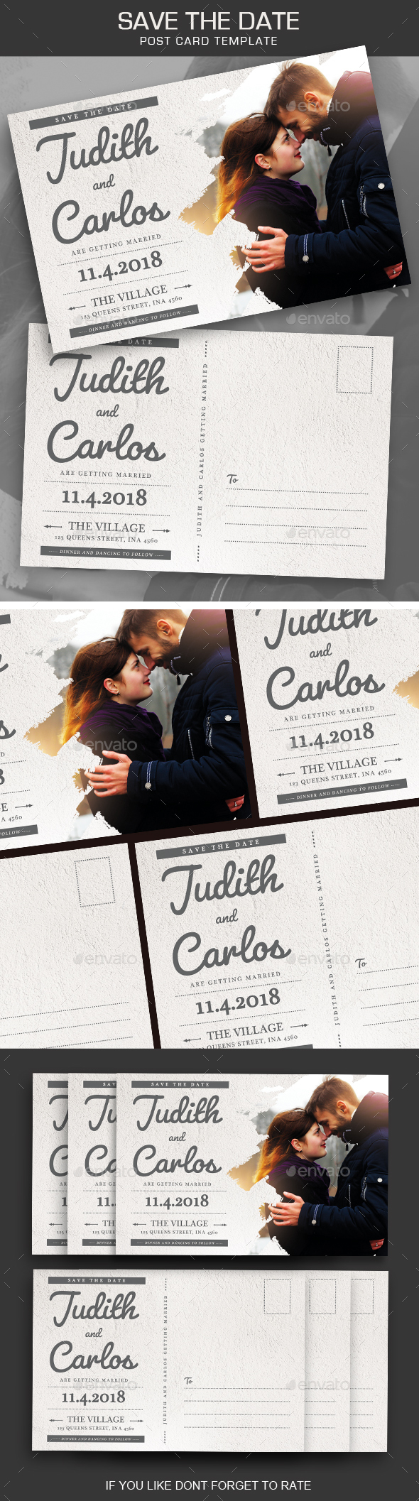 Save the Date Post Card - Weddings Cards & Invites