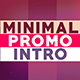 Minimal Promo Intro - VideoHive Item for Sale
