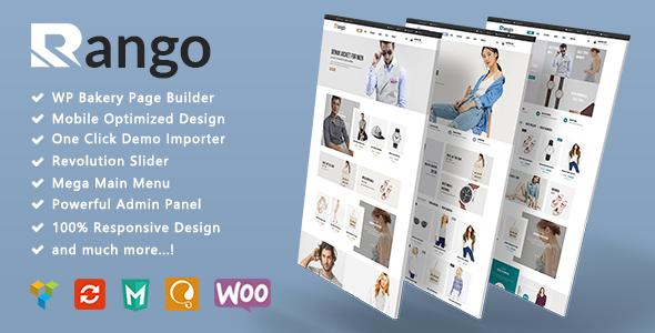Rango - Minimalist Fashion Responsive WooCommerce WordPress Theme - WooCommerce eCommerce