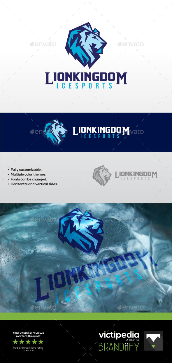 Lion Kingdom Sports - Abstract Logo Templates