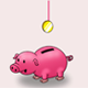 Saving Money for Business in Piggy Bank - VideoHive Item for Sale