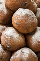 Heap of oliebollen,close up, traditional Dutch pastry for New Ye - PhotoDune Item for Sale