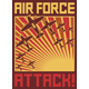 Air Force Attack Retro Poster - GraphicRiver Item for Sale