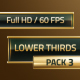 Lower Thirds Pack 3 - VideoHive Item for Sale