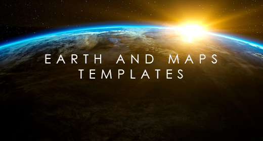 Earth and Maps templates