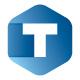 Cubical T Letter Logo