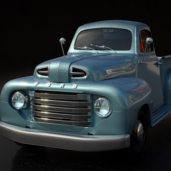 Ford Pickup/Truck 1950 - 3DOcean Item for Sale