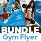 Gym Flyers Bundle - GraphicRiver Item for Sale