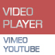 Responsive Video Gallery HTML5 YouTube Vimeo