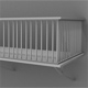 High Poly Balcony - 3DOcean Item for Sale