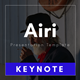Airi Multipurpose Keynote Template - GraphicRiver Item for Sale