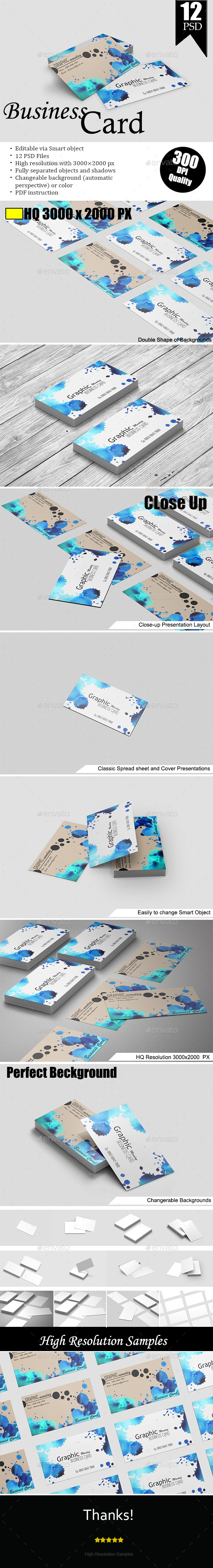 Business Cards Mockup - Business Cards Print