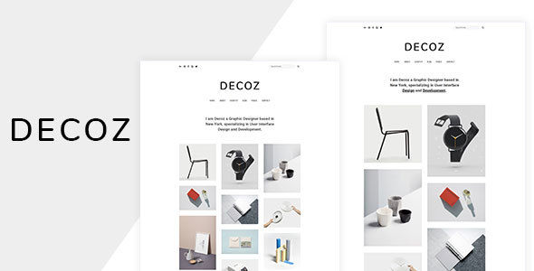 Image of Decoz - Minimal Portfolio & Photography HTML