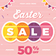 Easter Party & Sale Flyer