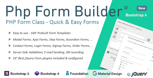 PHP Form Builder - CodeCanyon Item for Sale