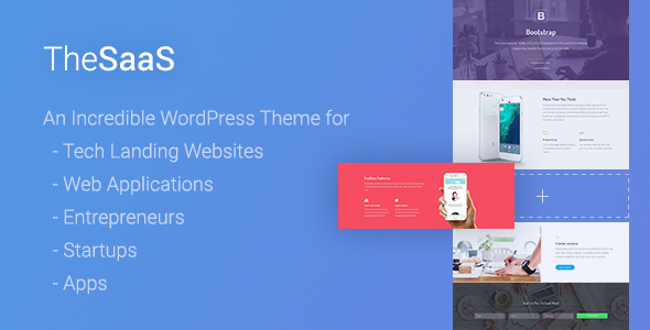 TheSaaS - Responsive SaaS, Software & WebApp WordPress Theme - Software Technology