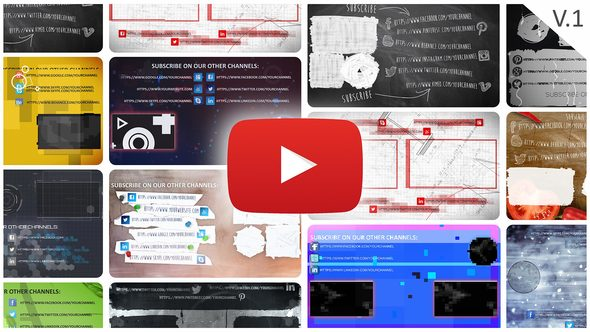 YouTube End Screens Builder 21560750 - Free download