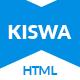 Kiswa - Multipurpose Responsive Template - ThemeForest Item for Sale