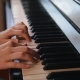 Hands of Young Teen Girl Playing on the Piano - VideoHive Item for Sale