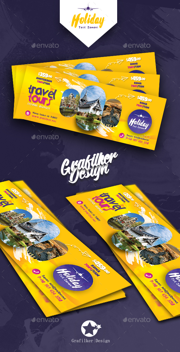 Travel Tours Cover Templates - Facebook Timeline Covers Social Media