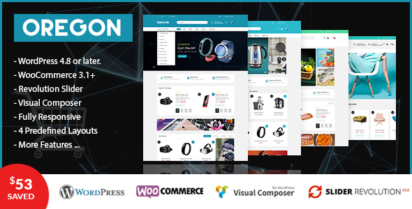 VG Oregon - Responsive WooCommerce WordPress Theme - WooCommerce eCommerce