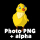 Yellow Chicken Standing and Looking Around - VideoHive Item for Sale