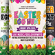 Easter Egg Hunt Flyer Bundle Template - GraphicRiver Item for Sale