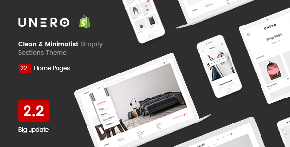 Image of Unero - Clean & Minimal Shopify Sections Theme